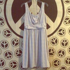 Faded Glory Striped Tank Dress